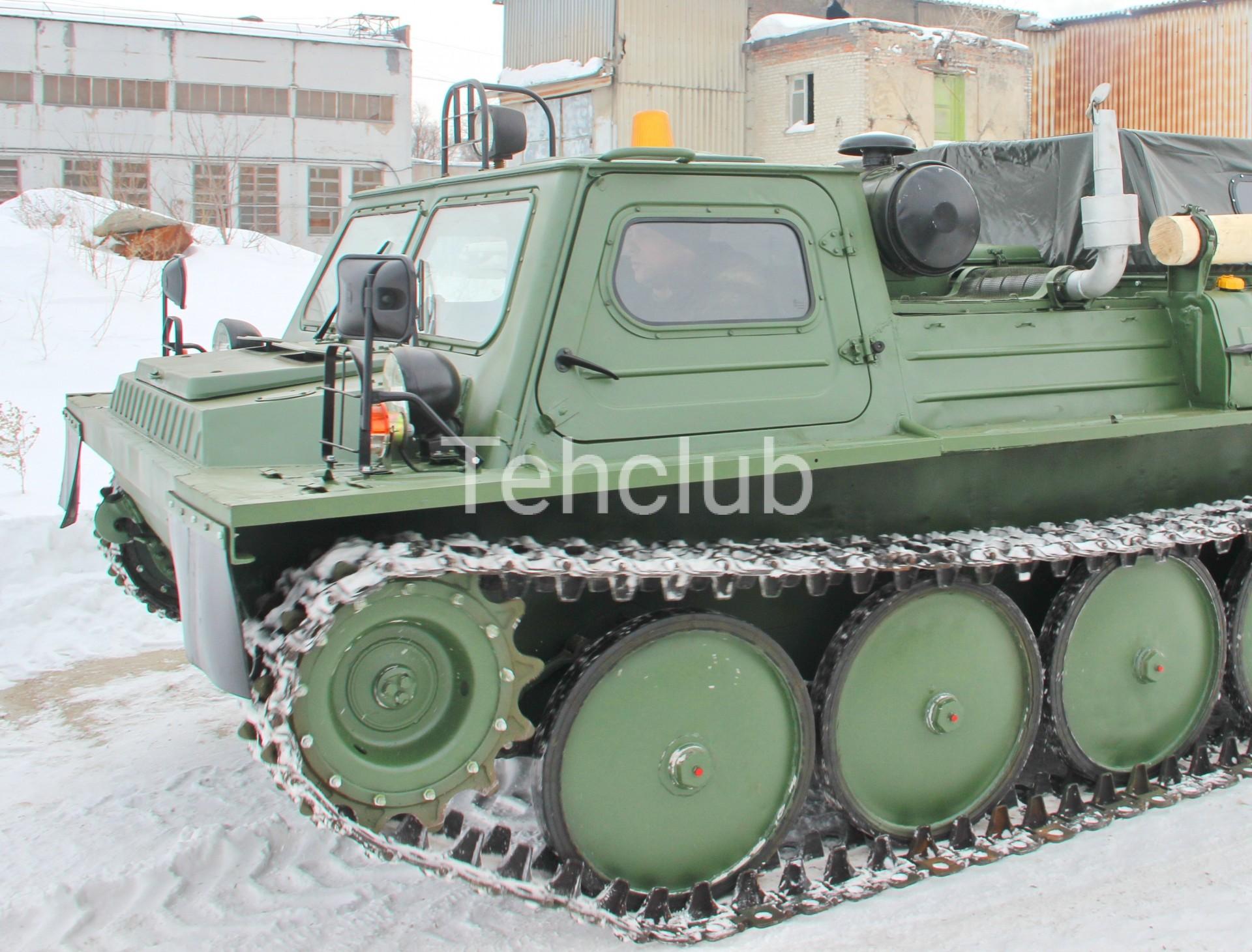 Гусеничный транспортер газ 34039 мойка транспортеров