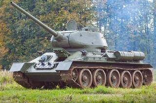 Танк T-34-85 демилитаризованный