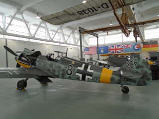 "Messerschmitt BF-109G-6 ""Black 8"", 1944 г."