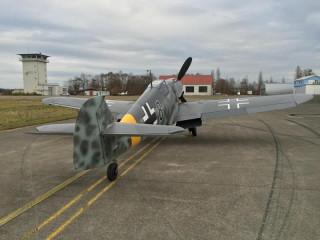 """Messerschmitt BF-109G-6 """"Black 8"""", 1944"""