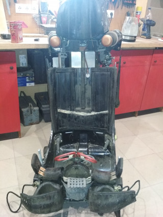 Катапультное кресло К-36