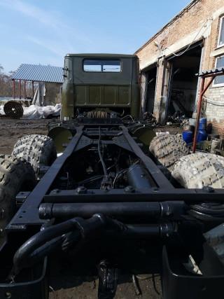 КрАЗ-260, шасси в сборе