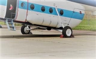 Стойки шасси вертолета Ми-8