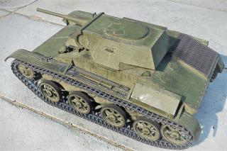 Танк Т-45, демилитаризованный
