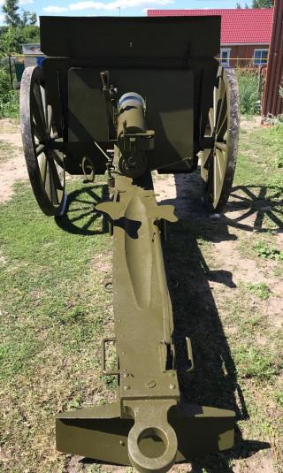 76-мм полевая пушка, трёхдюймовка (макет)