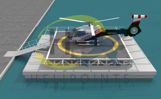 Вертолетная площадка на воде