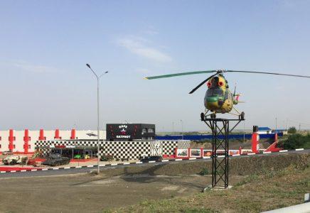 Вертолет Ми-2 в музее